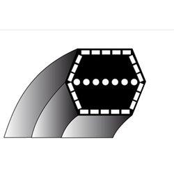 Courroie pour tondeuse CASTEL GARDEN modele TC92  COURROIE A 6 FACES POUR LAMES 92 cm DE COUPE