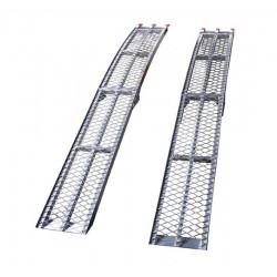 Rampes pliables en aluminium capacité 600kg/paire