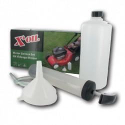 Kit de vidange pour moteurs de tondeuse à gazon