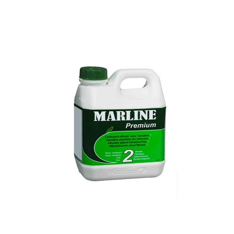 Carburant Alkylate MARLINE Premium pour moteur 2 Temps Bidon de 2 litres