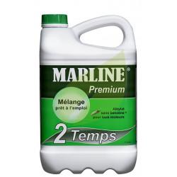Carburant Alkylate MARLINE Premium pour moteur 2 Temps Bidon de 5 Litres