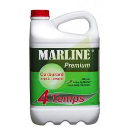 Carburant Alkylate MARLINE Premium pour moteur 4 Temps Bidon de 5 Litres