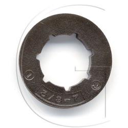 Bagues pour pignons de tronconneuse 3/8 7 dents