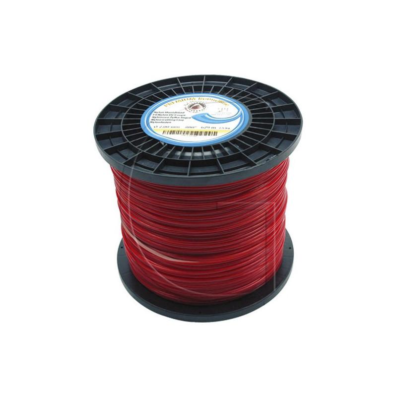 Bobine de fil nylon rond pour debrousailleuse 437 METRES - Ø 2.4 MM