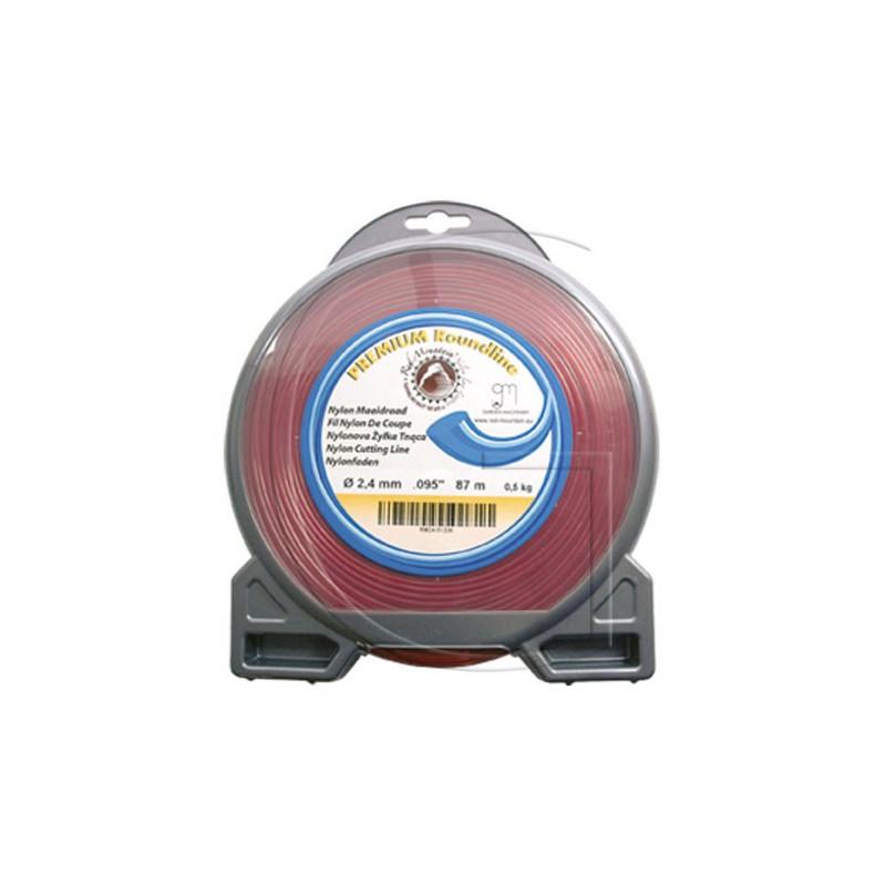 Bobine de fil nylon pour debrousailleuse 185 METRES - Ø 1,6 MM