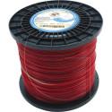 Bobine de fil nylon rond pour debrousailleuse 629 METRES - Ø 2 MM