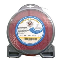 Bobine de fil nylon rond pour debrousailleuse 46 METRES - Ø 3.3 MM