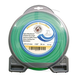 Fil nylon carre pour debrousailleuse bobine 57 METRES - Ø 2.7 MM