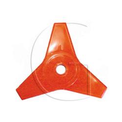 Disque de débroussailleuse universelle - 225mm 3 FACES DE COUPE - Diamètre : 225 mm - Diamètre Axe : 25,4 mm