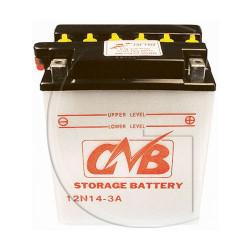 Batterie 12N14-3A 12 volts 14 Ampère
