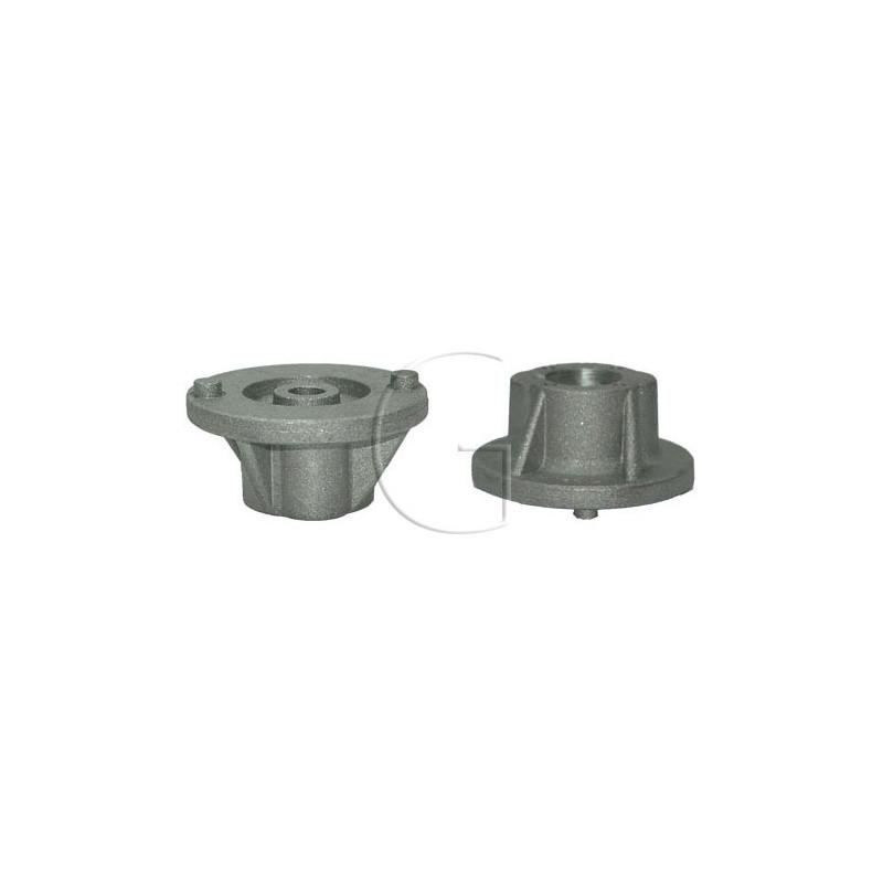 Support de lame pour tondeuse STIGA modele DINO 45, DINO 47, MULTICLIP 46