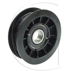 poulie de lanceur de tondeuse castel garden n°origine 25601554/0 plate avec roulement