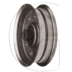 poulie/galet de lanceur pour tondeuse roper n° orig 105313x poulie plate avec roulements