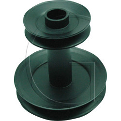 poulie/galet de lanceur pour tondeuse roper n°orig 532140186 pour mod yt130, yth130, yth150, yth120, lth125